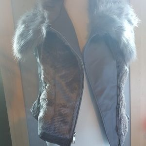New without tags Furry Guess Vest